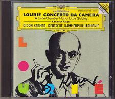 Gidon KREMER Signiert Arthur LOURIE Concerto da Camera Little Gidding Chamber CD