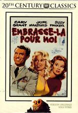 18667 // EMBRASSE LA POUR MOI GARY GRANT FOURREAU CARTON DVD EN TBE
