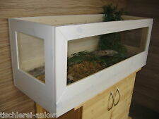 Schildkröten Terrarium 120*40*40cm aus Holz, Landschildkröten, Schildkrötenterra