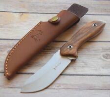 Couteau de Chasse Rando Elk Ridge Lame Acier 3Cr13 Manche Bois Etui ER20003RW