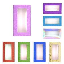 20x Empty False Eyelash Box Eye Lash Packaging Case Box Container Portable Trave