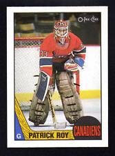 PATRICK ROY canadiens 1987-88 O-PEE-CHEE OPC #1  NM-MINT SHARP CORNERS