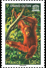 Frankrijk / France - Postfris / MNH - UNESCO, Orangutan 2017