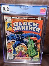 Black Panther #4 CGC 9.2 HIGH GRADE Marvel Comic KEY 1st Solo Series Jack Kirby