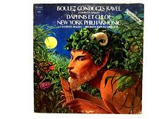 LP Boulez Conducts Ravel Complete Ballet CBS