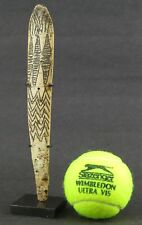 Burma Naga hill tribe carved hair ornament piece. Ethnographic antique.