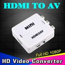 HDMI  TO AV CONVERTER 1080P US SCALLER- NTSC PAL SUPPORT