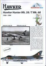 NEW 1:32 Matterhorn Circle Decals 32019 Hawker Hunter Mk.58 / T Mk.68 (FGA.9)