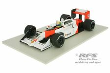 McLaren Honda mp4/4 - Ayrton senna-Formule 1 champion du monde 1988 - 1:18 MINICHAMPS