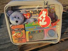 TY Beanie Babies Case PLATINUM Official Club, coin cards, CLUBBY II NEVER OPENED