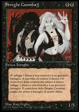 4 FBB Italian Cuombajj Witches (Streghe Cuombajj) ~ Lightly Played Italian Renai