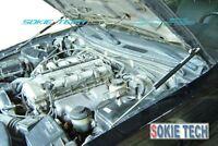 Black Strut Gas Lifter Hood Shock Stainless Damper Kit for Mazda CX5 CX-5 SUV