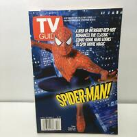 TV Guide April 27-May 3 2002 Spider-Man! Tobey Maguire Cover