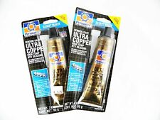 Two pack as shown   Permatex Ultra Copper High Temp RTV Silicone Gasket, 3 oz