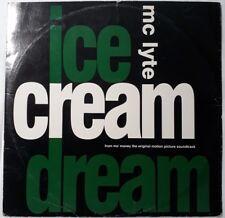 "MC Lyte-Ice Cream Dream 12"" Single.1992 Perspective PERT 7417.Straight Pass+"