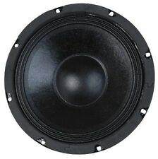 "8"" Woofer Paper Cone Cloth Surround 100W RMS 4ohm Replacement Home Car Audio"