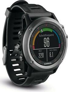 Garmin fenix 3 GPS-Multisportuhr Mineralglas grau - Zustand akzeptabel