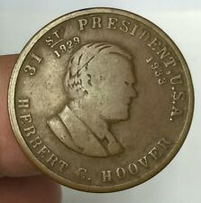 1933 US 31st Presidential's Belgium Food Relief Commissio  token  high grade!