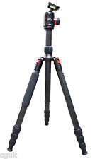 "Venturer 4 Section PRO CF Carbon Fibre Fiber Tripod 72"" 25kg with 46mm Ballhead"