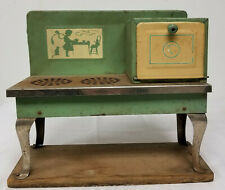 Antique Vintage Miniature Salesman Sample Stove Oven Childrens Electric