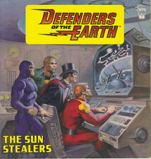 DEFENDERS OF THE EARTH - THE SUN STEALERS - 1987 1st UK ed - FLASH GORDON etc