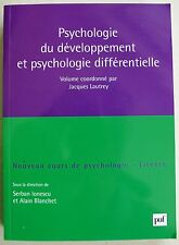 Psychologie du développement et psychologie différentielle IONESCU & A BLANCHET