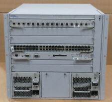 Nortel Networks Passport 8006 Switch 6-Slot Chassis DS1402002 2x 850W + Modules