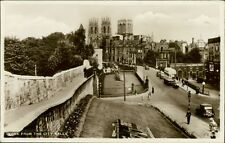 York Double Decker Bus Cars Vintage From Walls Real Photo PC Ri.998