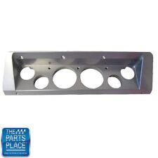 66-67 Nova Chevy II Dash Bezel Insert Billet Aluminum Black Semi Gloss