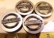 (4) NISSAN CENTER CAPS HUB CAPS 40342 AU510 {HC88}