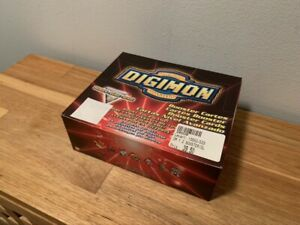 Digimon Cards Digi Battle Series 2 Booster Box w/ 24 Sealed Packs New English