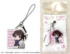 Saekano Acrylic Earphone Jack Accessory 2 Megumi Kato Chibi Chara Licensed New