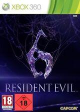 Xbox 360 GAME RESIDENT EVIL 6 NEW