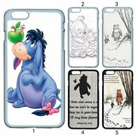 Winnie the Pooh Eeyore Piglet Case Cover For Apple iPhone iPod / Samsung Galaxy