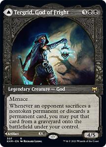 Tergrid, God of Fright SHOWCASE, Kaldheim, MTG, NM/M PREORDER