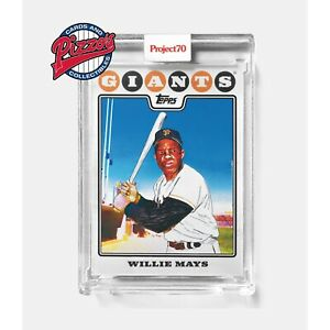 Topps Project70 Card 670 - WIllie Mays by Matt McCormick Presale