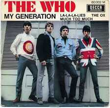 "THE WHO ""MY GENERATION"" ORIG FR EP 1965"