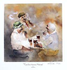 """Des Brophy """"time gentlemen please"""" pub boire sgd ltd taille: 33cm x 32cm neuf"""