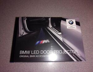 Genuine BMW Led Door Logo Projectors Puddle Lights NEW 63312468386