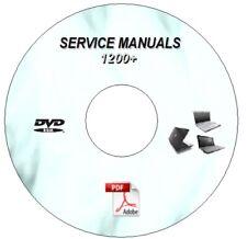 1200+ LAPTOP  REPAIR MANUALS DVD  HP COMPAQ ACER TOSHIBA IBM SONY DELL