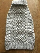 HAND KNITTED NEW JUMPER FOR PUPPY/DOG.  SIZE XX-LARGE THICK AND WARM