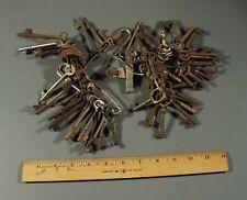 Large Assortment 65+ Vintage Keys, Skeleton Hollow Stem & Solid, Brass, Iron