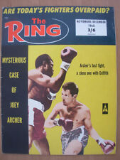 November The Ring Boxing Sports Magazines in English