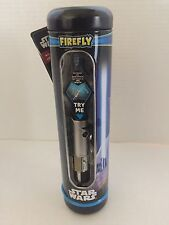Star Wars Talking BLUE Lighted LIGHTSABER TOOTHBRUSH W/Timer Rey NEW