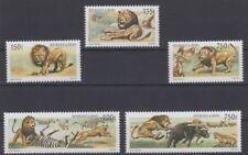 Benin 2001 Raubkatzen Löwen Jagd  Lion Hunting  postfrisch seltene Ausgabe