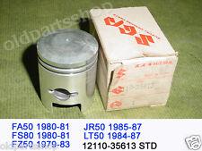 Suzuki FA50 FS50 FZ50 JR50 LT50 Piston Standard Size 1979-87 NOS 12110-35613 STD