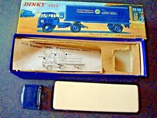 DINKY TOYS Ref 803 UNIC SNCF PAM PAM + BOITE D'ORIGINE + NOTICE