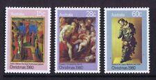 Australian Decimal Stamps 1980 Christmas (Set of 3) MNH