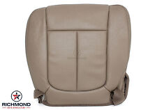 2010 Ford F-150 Lariat -Driver Side Bottom Perforated Leather Seat Cover Tan