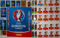 Complete New Panini EURO 2016 France Loose Stickers Set And Empty Football Album
